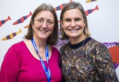 Laura Young with Lead Reumatology Consultant Dr Clarissa Pilkington