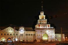 Kazan station in Moscow. Photo kudago.com #friendlylocalguides #moscowarchitecture #moscowprivatetour
