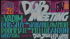 "🇺🇸Hand-drawn typography based poster by Massa AquaFlow for reggae and dub event ""DUB MEETING"" at Mid City LA 🔈DJ Vadim (UK)  🔈Dub-Stuy & Jahdan Blakkamoore (Brooklyn)  🔈Roommate & Mello Banton (CA/JA)   🔈Gabby Locks (LA) 🔈Sebastien Carayol (FR) 🔈Neg VJ 🔈DUB SIREN HIFI Sound #dubmeeting #soundsystem #djvadim #dubstuy #jahdanblakkamoore #roommate #mellobanton #gabbylocks #sebastiencarayol #sebcarayol #reggae #dub #dubMusic #dubculture#poster #typography #typographydesign #typographyposter Typography Poster, Typography Design, Dub Music, Page Layout, Reggae, Hand Drawn, How To Draw Hands, Type Design, Handwriting"