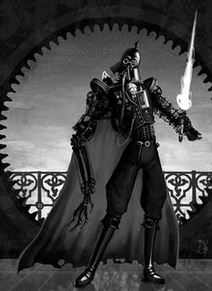 steampunk Darth Vader?  yes, please.