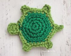 T is for Turtle: Crochet Turtle Applique | Repeat Crafter Me | Bloglovin'