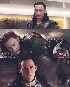 Loki. Let me just say that I am NO Hiddlestoner at all, but I actually liked and appreciated Loki in Thor 2.