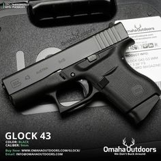 Glock 43 9mm 6 RDS 3.39″ Handgun - Omaha Outdoors
