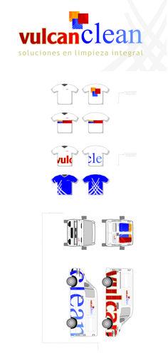 Aplicación a uniformes y vehículo de carga.