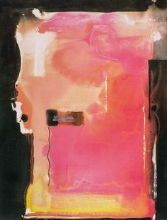 Helen Frankenthaler - Morpheus, Acrylic on canvas, x inches, 295 x 230 cm, A/Y Helen Frankenthaler, Willem De Kooning, Jackson Pollock, Kandinsky, Abstract Painters, Abstract Art, Louise Bourgeois, Robert Motherwell, Collage