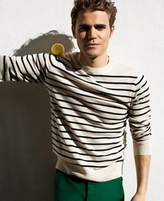 Paul Wesley's Photoshoot for Mr Porter 2012
