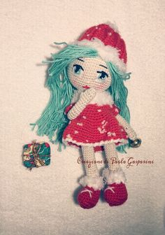 Doll NoeliaChristmastime is coming