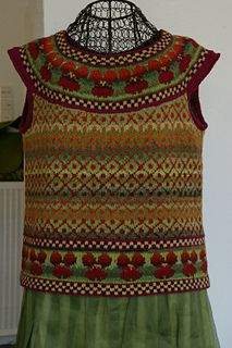 Ravelry: Stiefmuetterchen pattern by Lydia Feucht The Effective Pictures We Offer You About pulli si Fair Isle Knitting, Hand Knitting, Knitting Patterns, Crochet Fall, Knit Crochet, Norwegian Knitting, Knit Vest, Fair Isles, Cool Sweaters