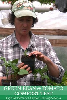 HPG Training video will show you our simple garden compost test that will help you to know how thickly you can apply your compost in your garden. Organic Compost, Garden Compost, How To Find Out, Simple