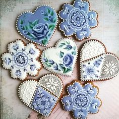 Cupcakes Decoration Ideas Pretty 69 New Ideas Mother's Day Cookies, Valentines Day Cookies, Fancy Cookies, Iced Cookies, Cute Cookies, Royal Icing Cookies, Cupcake Cookies, Cookies Et Biscuits, Elegant Cookies