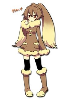 Pokémon - 428 Lopunny art by 咲楽 千代 (Pixiv)