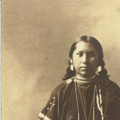 Wenatchi girl named Thrace, Washington, ca.1907 :: American Indians of the Pacific Northwest -- Image Portion