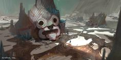 ArtStation - Ruins of the Forgotten Faces, Kendrick See
