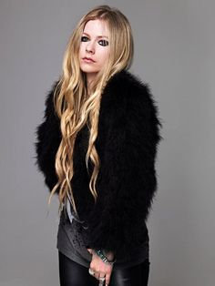 Patiently waiting for Pop Punk, Avril Lavigne Photos, Avril Lavingne, Barbie, Under My Skin, My Idol, Fur Coat, Singer, Actresses
