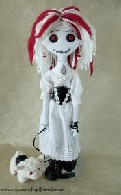 cool gothic clothes for rag dolls - Google Search