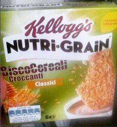 #nutrigrain #biscocereali #kelloggs #cereals #biscuits