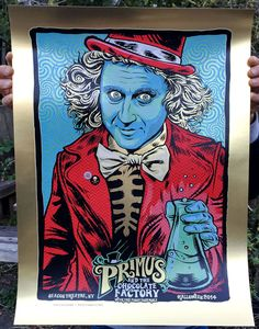 Primus and the Chocolate Factory Halloween Poster 2014 - zoltron