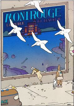 "Moebius - ""Montrouge Mystery"" - 2001"