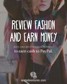 How to Earn Money Rating Fashion Trends Work From Home Moms, Make Money From Home, Way To Make Money, Make Money Blogging, Money Saving Tips, Make Money Online, Business Money, Budgeting Money, Finance