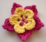 10 Beautiful (and Free) Crochet Flower Patterns  17 likes 98 repins  Uploaded by Tina Smith   GoTo: olavas.blogspot.com