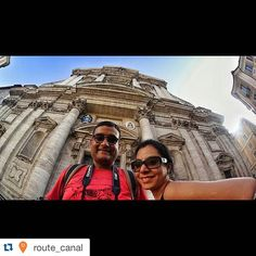 #Repost @route_canal with @repostapp.  Here is the first selfie from the city which is a living museum!  www.routecanal.com  #instagramers #instago #in #instagood #instadaily #instamood #instatravel #trip #travelnow #travelgram #travel #travelling #selfie #Rome #sonyactioncam #heritage #building #photooftheday #photography #moment #Italy #fun #life #live #smile #likes #likesforlikes #follow4like #followback by shikhamishra08