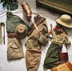 ✸This Old Stomping Ground✸ — Safari Outfit Women, Jungle Outfit, Safari Outfits, Kids Outfits, Jungle Party, Safari Party, Safari Theme Birthday, Safari Chic, Cute Halloween