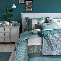 Nordischer Stil mit einem Bett mit Kuschelfaktor. | Einrichten ...