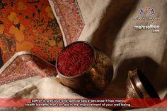 Saffron Benefits Health