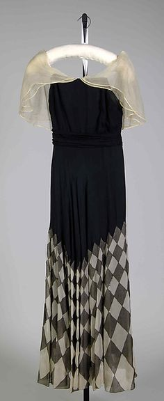 Evening dress Date: ca. 1930 Culture: French Medium: Silk Accession Number: 2009.300.7751