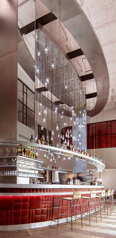 Bar at the Virgin Hotel, Chicago