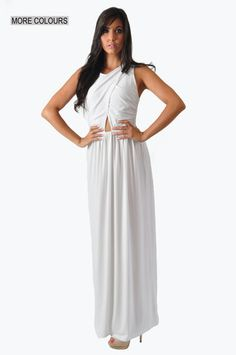 Grecian Maxi Dress   On sale for only R377!!!!!  www.prettyplease.co.za