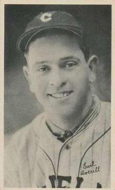e3ea83dccf 1936 National Chicle Fine Pen Premiums R313  5 Earl Averill Front. Fine Pens Baseball ...