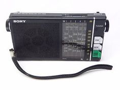 SONY ICR-4800 AM/SW 6 Band Short Wave Receiver