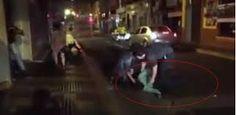 Video: Pelea en Xalapa deja a un hombre mal herido