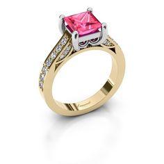 Feline ring - Ontwerp je eigen ring online - DiamondsbyMe