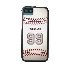 Cool Stitched Baseball Number 99 Case For iPhone 5
