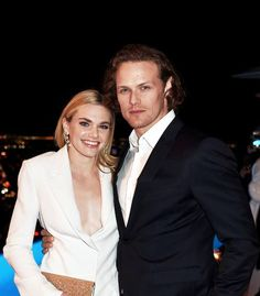 Sam Heughan attends a cocktail party to kick-off Independent Spirit Awards and Oscar weekend hosted by Piaget and The Weinstein Company on February 24, 2017 in Los Angeles, California.