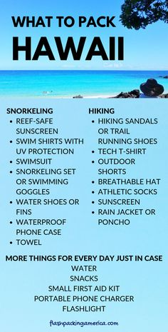 Travel Hawaii vacation tips with what to pack for hawaii packing list and outfit ideas for what to wear in hawaii for snorkeling beaches and hikes hik. - Source by vacation outfits ideas Hawaii Vacation Tips, Hawaii Travel, Vacation Trips, Beach Travel, Vacation Travel, Hawaii Hawaii, Hawaii Life, Mexico Travel, Spain Travel