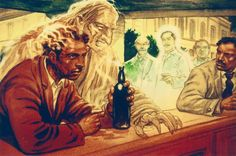 """Right in front of us, the unfortunate discarnate, whose facial features looked monstrous, approached a man (let's call him, """"Claudio"""") unceremoniously. He put his hand on Claudio's head and shouted insolently: """"Drink, my friend! I need a drink!""""  His raspy voice may have hurt other discarnates' sensitive ears, but Claudio could not hear a single sound. He went on sitting, undisturbed. Nevertheless, even if his physical eardrums had not ... #schizophrenia #spiritism #depression #phobia…"""