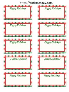 Editable Christmas Labels.14 Best Free Editable Christmas Labels Images Christmas
