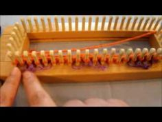 How To Do The Basket Weave or Checkered Board Stitch - YouTube Knitting Loom Socks, Loom Knitting Stitches, Spool Knitting, Knifty Knitter, Loom Knitting Projects, Finger Knitting, Knitting Videos, Sock Loom, Good Tutorials