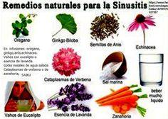 Remedios naturales para la sinusitis