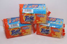 6 Tide Bars for Laundry Outstanding Cleaning Hand Wash 8 oz. each Stain Lifting great for Tough Stains Lemon Scent (3-2 Pack)