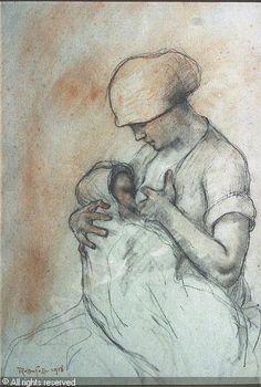 RASSENFOSSE Armand André Louis - Moeder en kind. Maternité