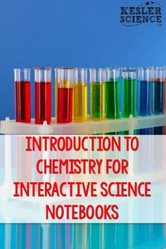 Engage your middle or high school science students with interactive notebook pages. Chemistry topics include Abundant Elements on Earth, Metals, Nonmetals and Metalloids, Physical and Chemical Change, Evidence of Chemical Change, Periodic Table, Atoms and the Subatomic Particles, Elements and Compounds, Density (with Problem Solving), Chemical Equation (including Balancing), and Photosynthesis. Grades 5th 6th 7th 8th 9th 10th