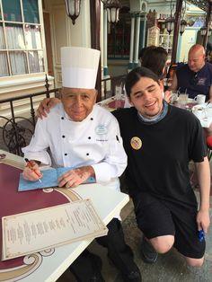 Jacob with Chef Oscar. 3-24-15