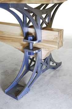 The White Ash Truss Table is one of our classics. Our Truss Base blended with th… The White Ash Truss Table is one of our classics. Our Truss Base blended with the elegance and pure beauty of White Ash make this table a stand alone work of art.