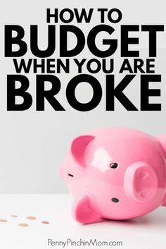 You need a budget if you are broke, but how do you make one? Is it possible to have a budget when you are broke? Can you make a budget work? Find out why it is even MORE important to have a budget when you don't have any money. Living On A Budget, Frugal Living Tips, Frugal Tips, Budgeting Worksheets, Budgeting Finances, Budgeting Tips, Save Money On Groceries, Ways To Save Money, Money Saving Tips