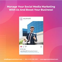 The world-class social media agency now helps your business expand rapidly. Get maximum ROI, increased sales, target warm leads with a focused social media campaign, global brand experience.  #socialmediamarketing #marketingstrategy #socialmediamarketingtips #socialmarketing #contentmarketing #socialmediamanager Content Marketing, Social Media Marketing, Medium App, Companies In Usa, Media Campaign, Mobile App Development Companies, Mobile App Design, Competitor Analysis, Design Development