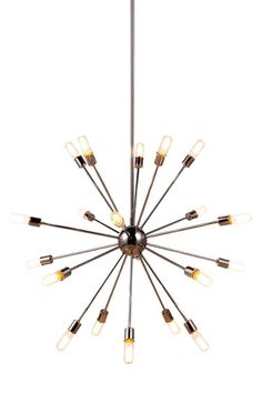 """View the Elegant Lighting 1134G40 Cork 40.5"""" Wide 20 Light Chandelier from the Urban Classics Collection at LightingDirect.com."""